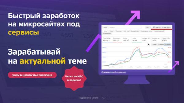 Read more about the article Быстрый заработок на микросайтах под сервисы (2020)