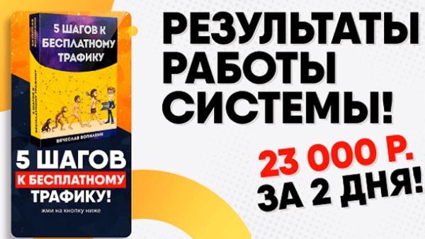 Read more about the article 5 шагов к бесплатному трафику