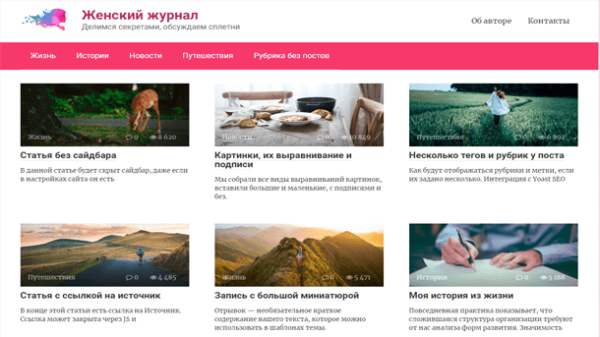 Read more about the article Тема WP Root