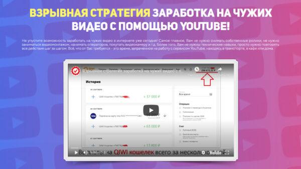 Заработок на чужих видео с помощью YouTube