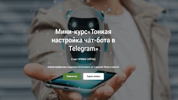 Read more about the article Тонкая настройка чат-бота в Telegram