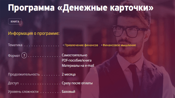Read more about the article Денежные карточки