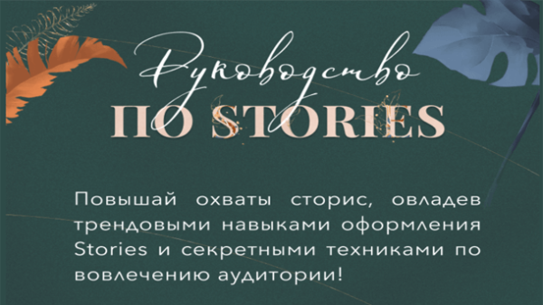 Read more about the article Руководство по stories (2021)