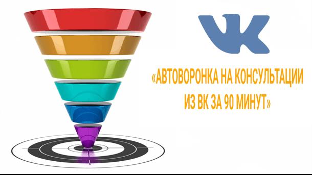 Read more about the article Автоворонка в ВК за 90 минут